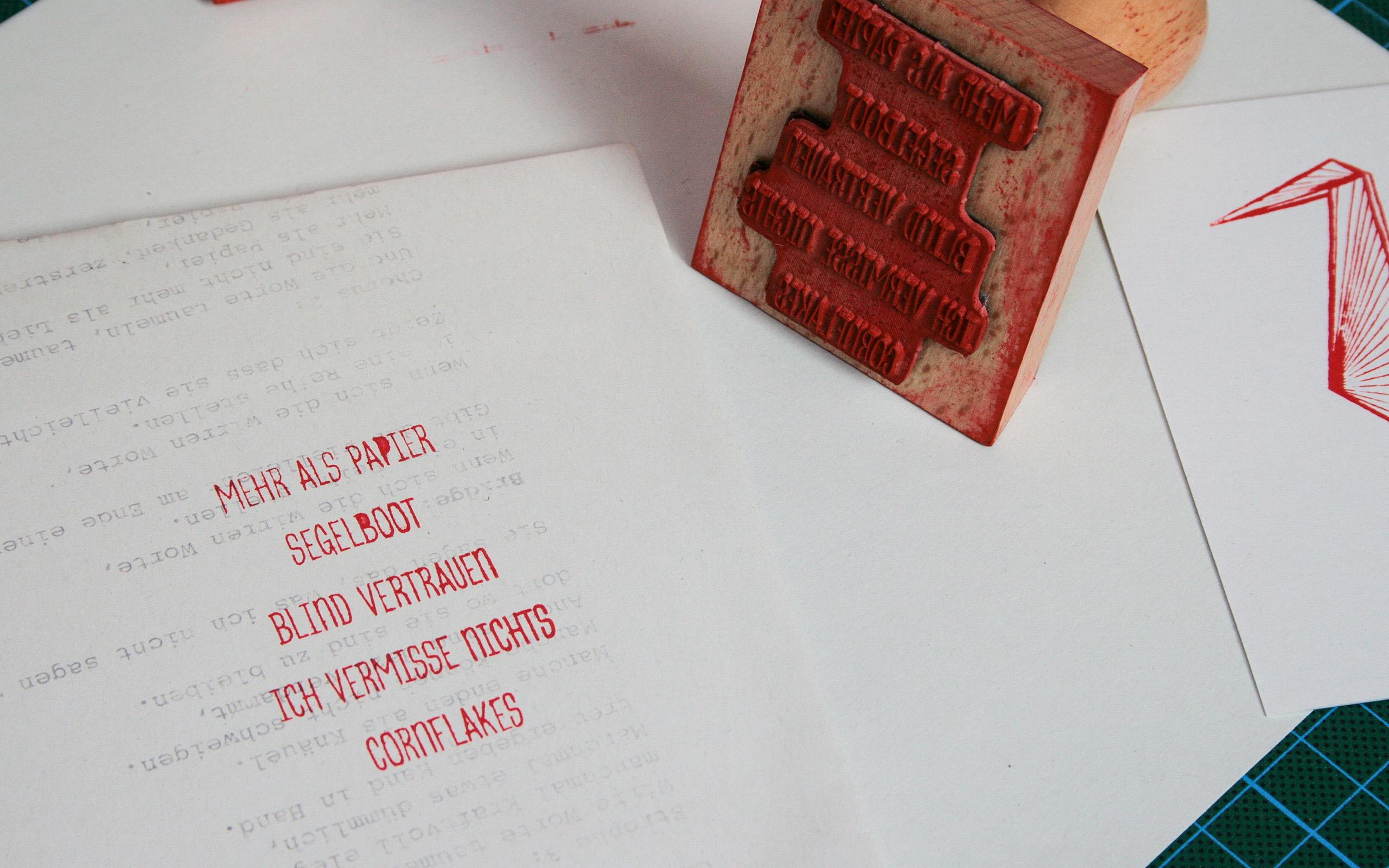 CD Florijan van der Holz Stempel