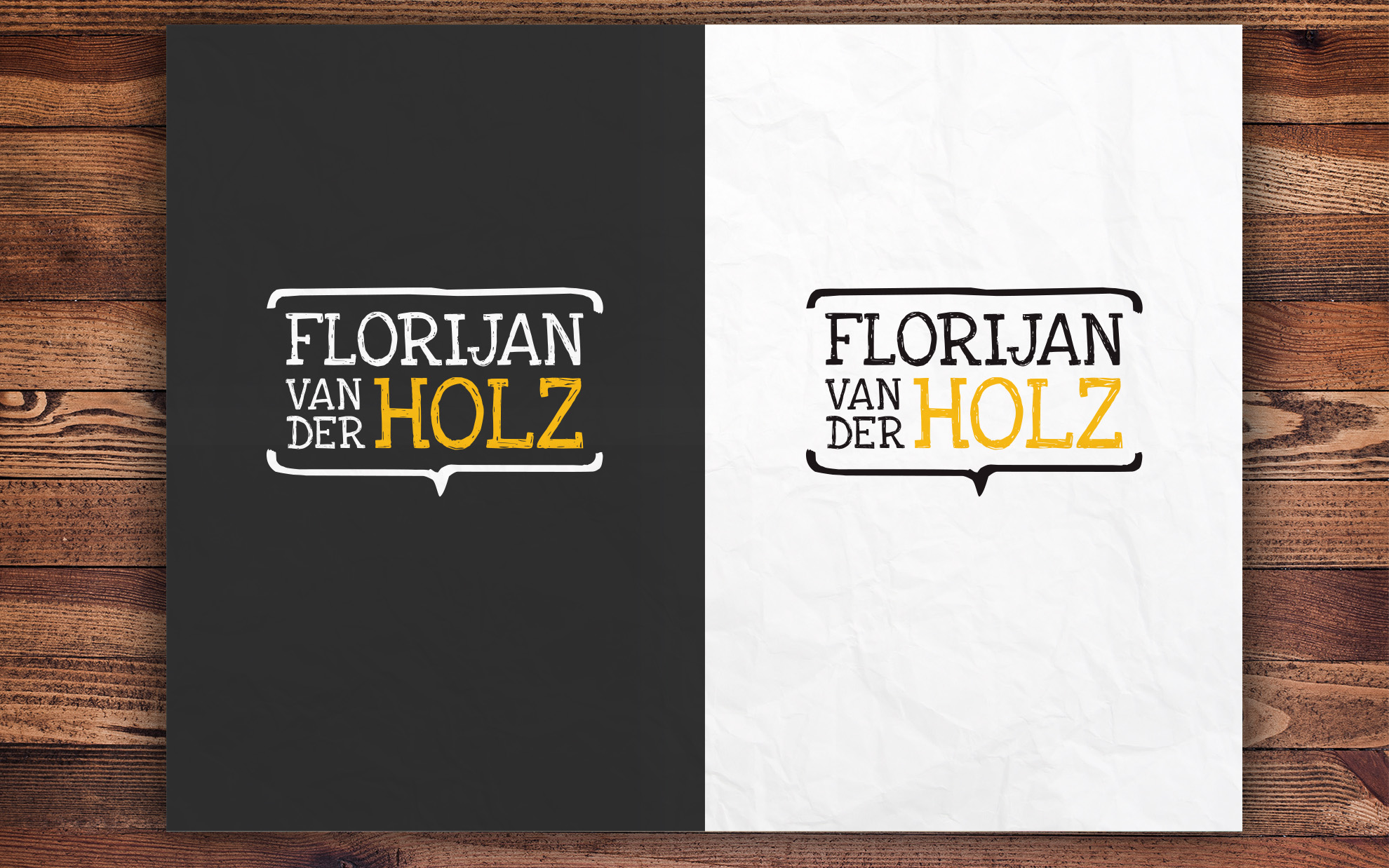 Logo Florijan van der Holz