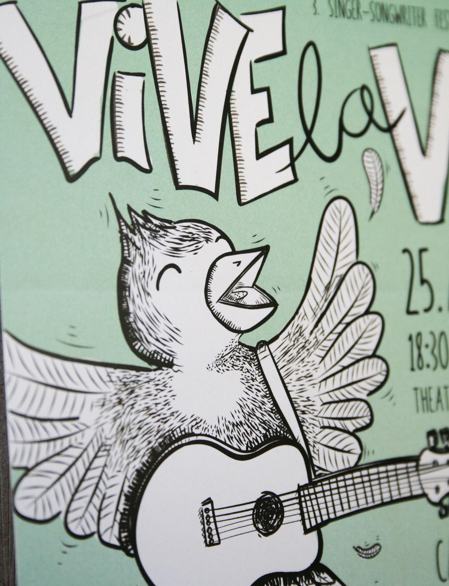 Vive la Vie Plakat 2015 Nahaufnahme 2
