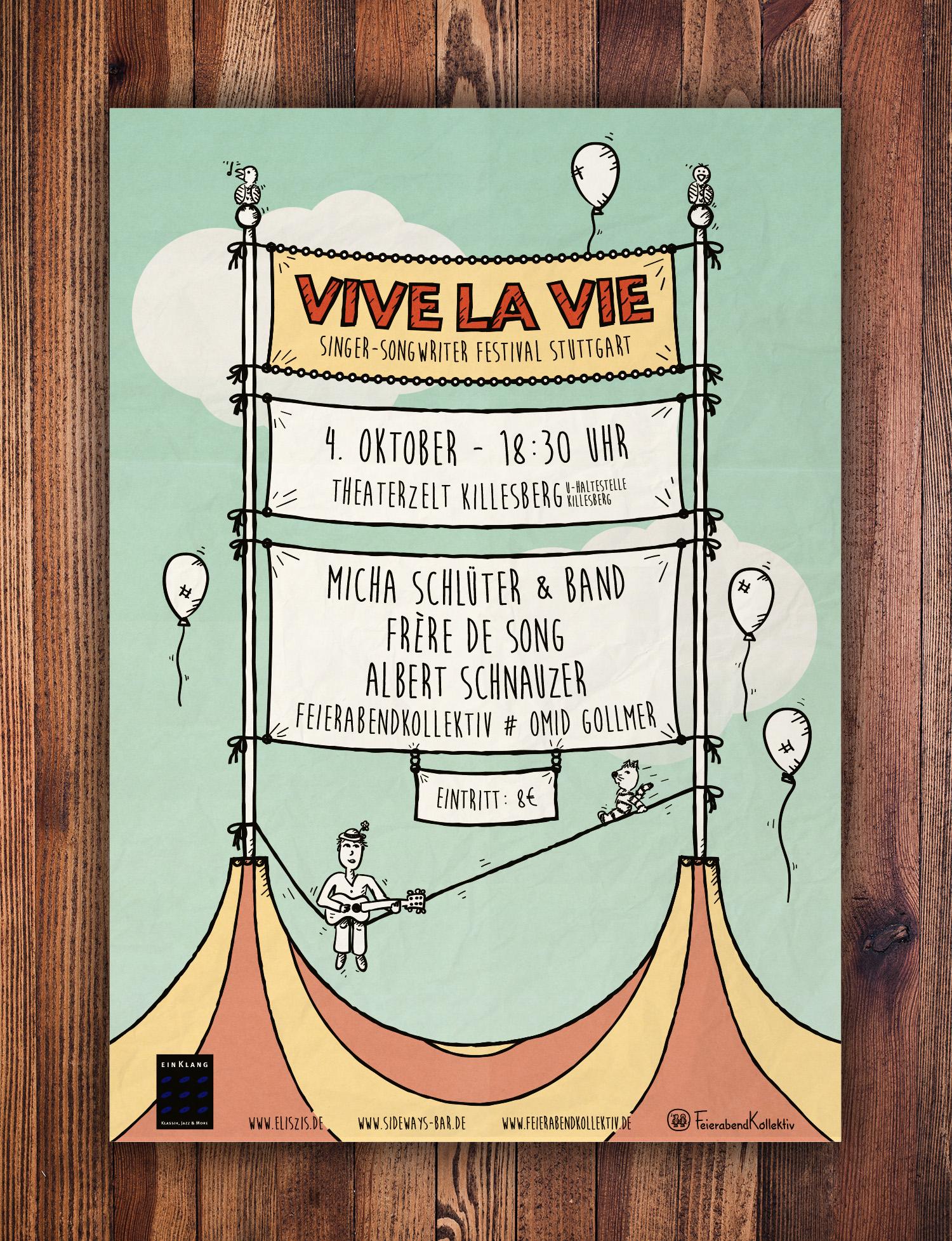 Vive la Vie Plakat 2014