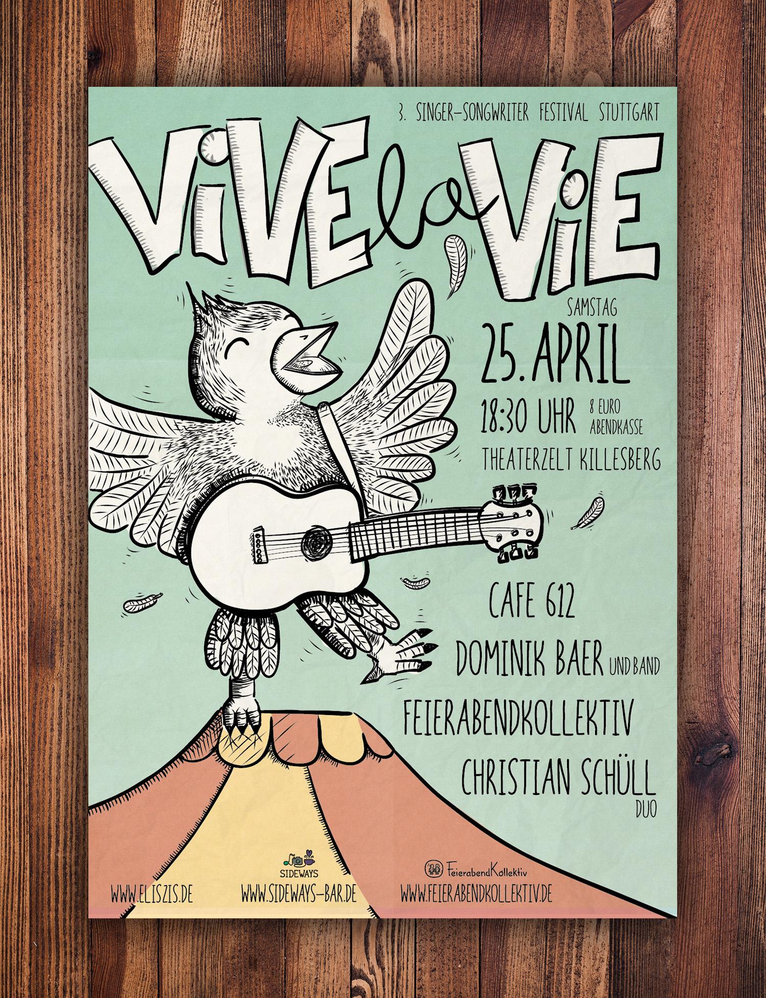Vive la Vie Plakat 2015