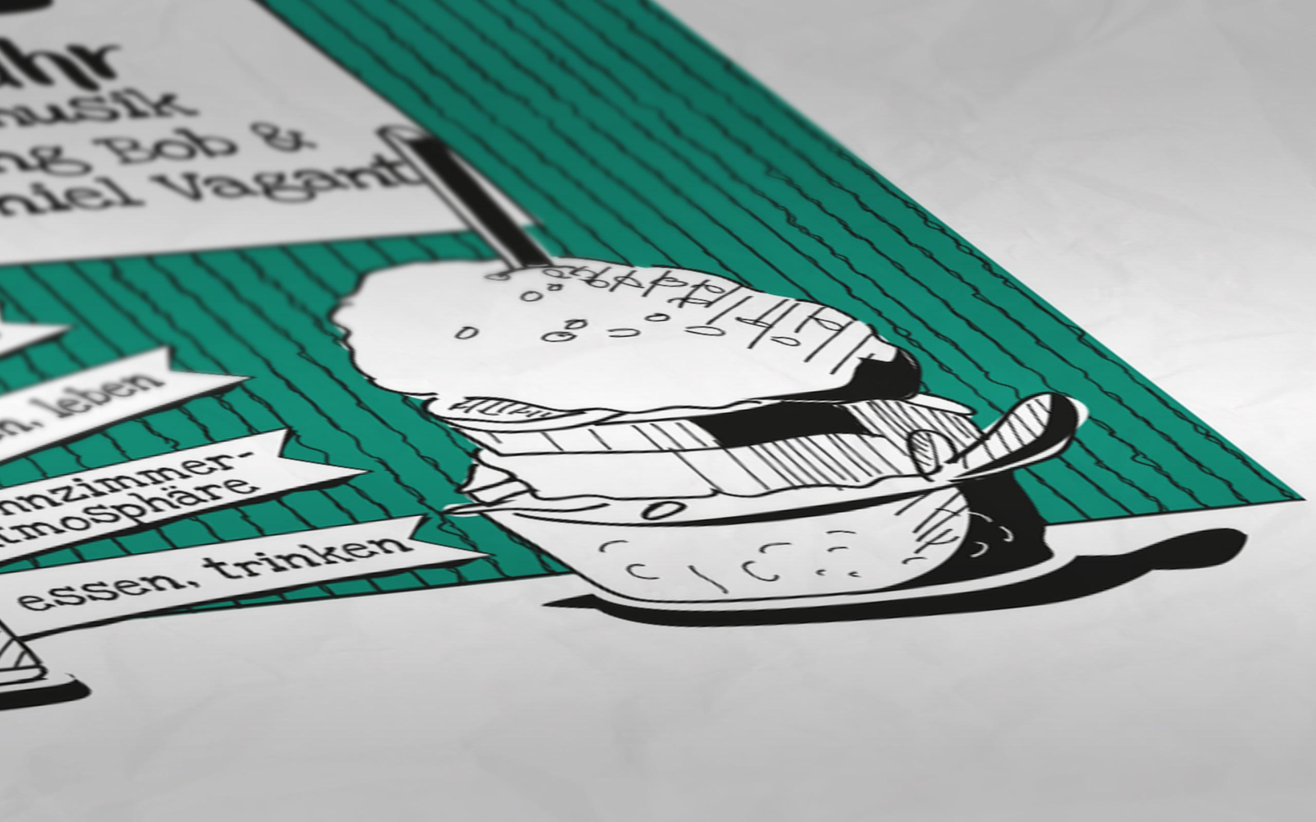 Sidways Jubiläumsplakat Detail