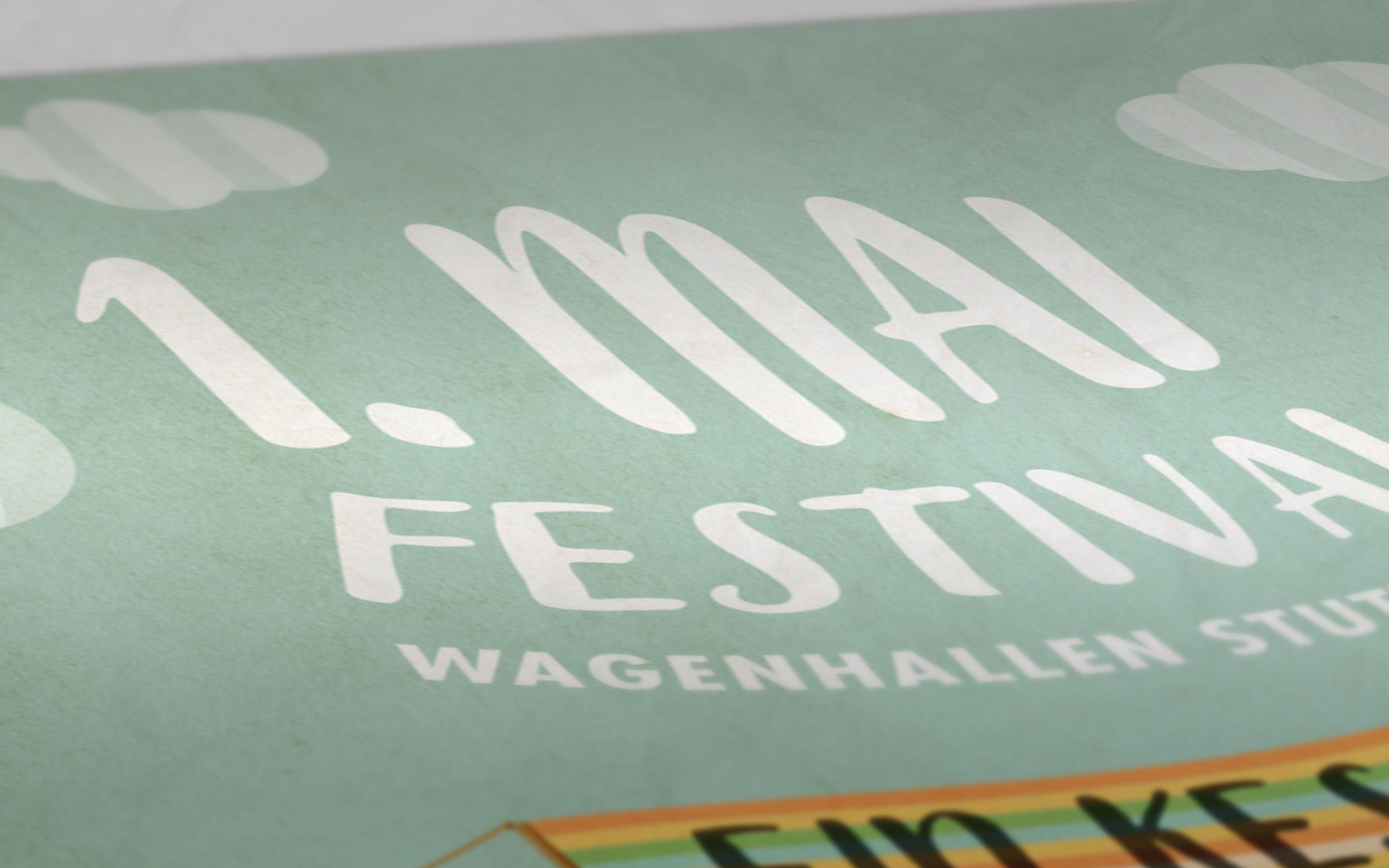 1. Mai Festival Plakat Detail